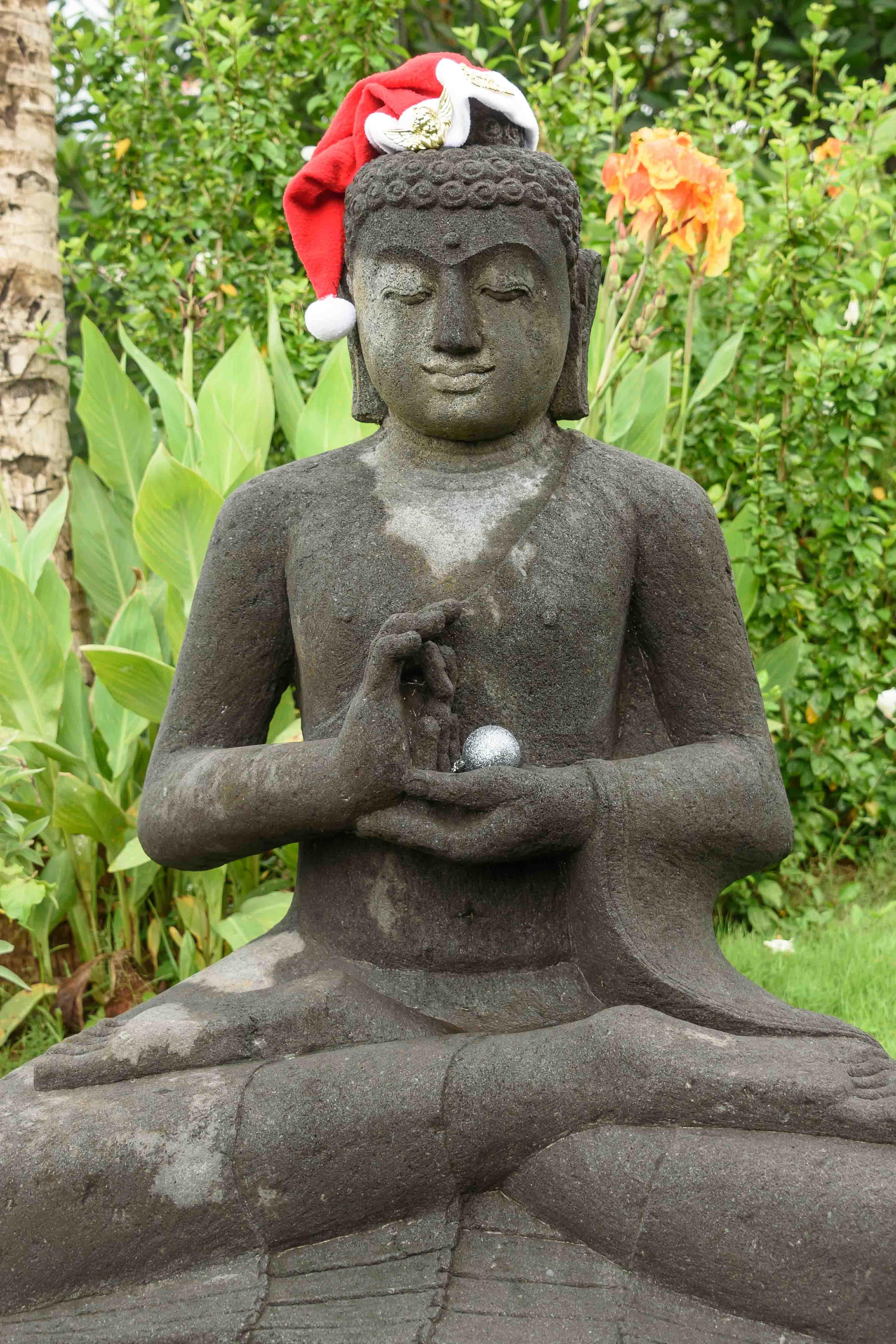 Buddha Statue at Villa Cengkeh, Bali